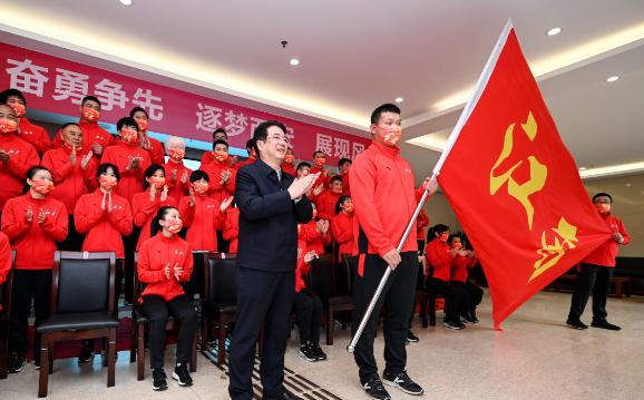 出征!江西体育代表团集结冲刺全国残运会